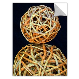 Dean Uhlinger 'Basket Spheres' Removable Wall Art