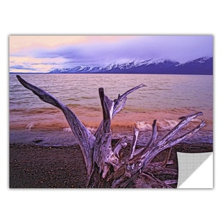 Dean Uhlinger 'Grand Tetons Storm Light' Removable Wall Art