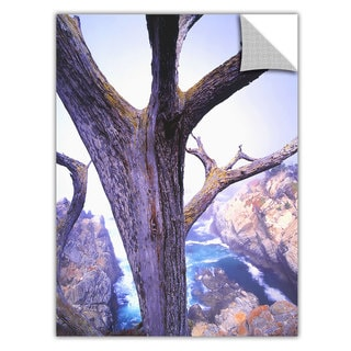 Dean Uhlinger 'Morning Fog and Cypress' Removable Wall Art