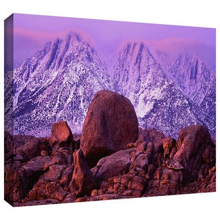 Dean Uhlinger 'Sierra Sunrise' Gallery-wrapped Canvas - Multi