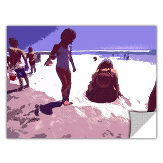 Dean Uhlinger 'Beach Day' Removable Wall Art