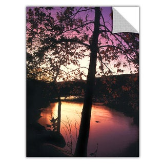 Dean Uhlinger 'Deer Creek Afterglow' Removable Wall Art