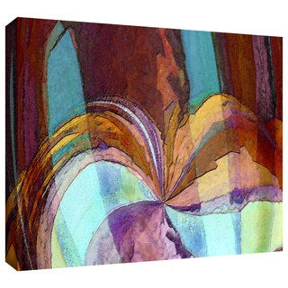 Dean Uhlinger 'Yata' Gallery-wrapped Canvas - Multi