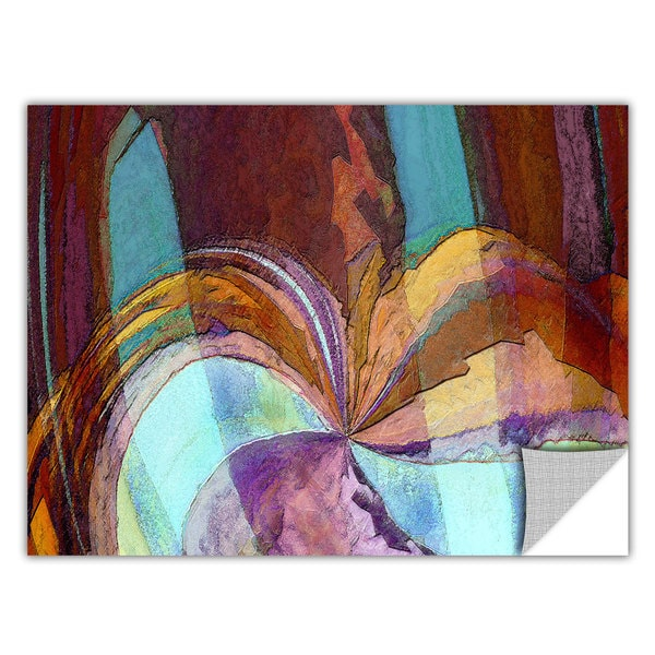 Dean Uhlinger 'Yata' Removable Wall Art - Multi
