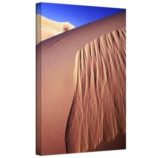 Dean Uhlinger 'Kelso Dunes Erosion' Gallery-wrapped Canvas