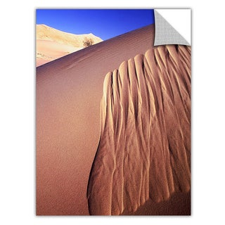 Dean Uhlinger 'Kelso Dunes Erosion' Removable Wall Art