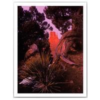 Dean Uhlinger 'Tonto Natural Bridge' Unwrapped Canvas - Multi
