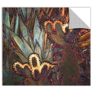 Dean Uhlinger 'Borrego Cactus Patch' Removable Wall Art