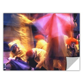 Dean Uhlinger 'Clowns in Fire Drill' Removable Wall Art