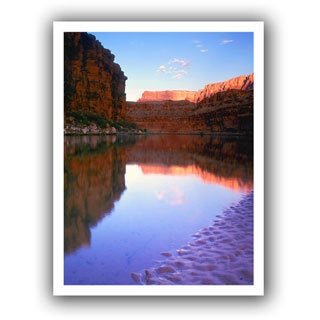 Dean Uhlinger 'Marble Canyon Sunrise' Unwrapped Canvas