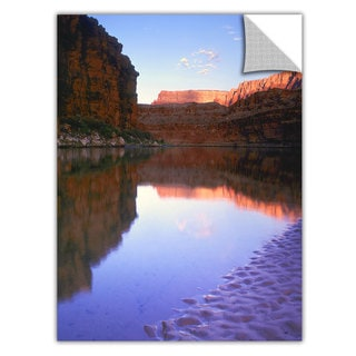 Dean Uhlinger 'Marble Canyon Sunrise' Removable Wall Art