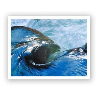 Dean Uhlinger 'Kern River Flow' Unwrapped Canvas - Multi