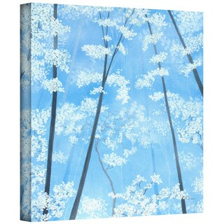 Herb Dickinson 'Spring Forest 2' Gallery-wrapped Canvas