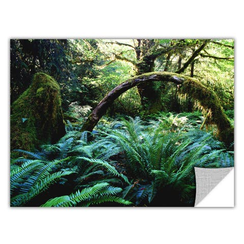 Dean Uhlinger 'Rain Forest Afternoon' Removable Wall Art