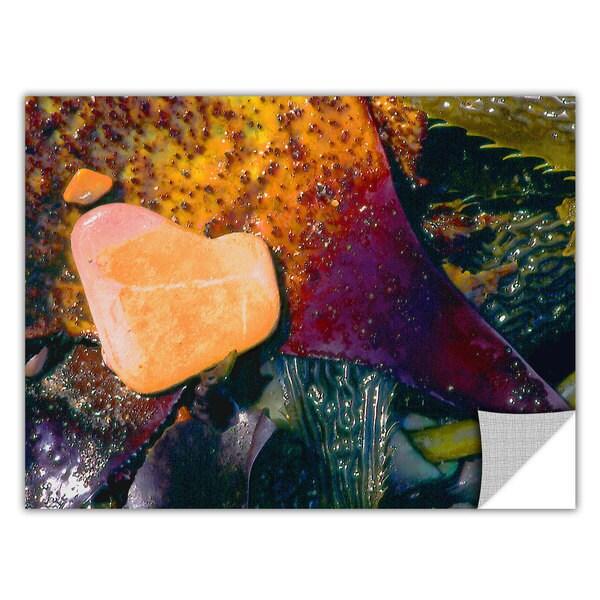 Dean Uhlinger 'Pebbles on Kelp' Removable Wall Art