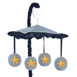 Sweet Jojo Designs Ocean Blue Crib Mobile