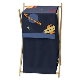 Sweet Jojo Designs Space Galaxy Laundry Hamper