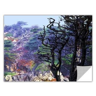 Dean Uhlinger 'Point Lobos Morning' Removable Wall Art