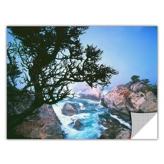 Dean Uhlinger 'Lifting Fog at Cypress Point' Removable Wall Art