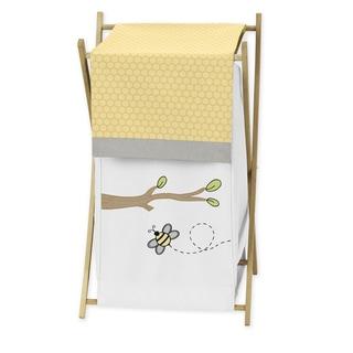 Sweet Jojo Designs Bumble Bee Laundry Hamper