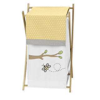 Sweet Jojo Designs Bumble Bee Laundry Hamper