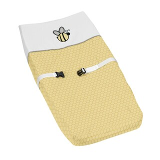 Sweet Jojo Designs Honey Bumble Bee Changing Pad Cover