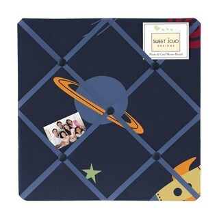 Sweet Jojo Designs Space Galaxy Photo Bulletin Board