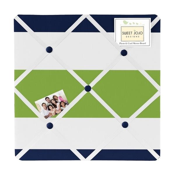 Sweet Jojo Designs Stripe Photo Bulletin Board