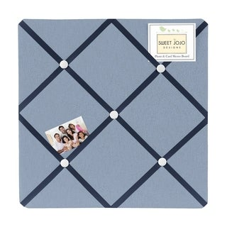 Sweet Jojo Designs Ocean Blue Fabric Photo Bulletin Board