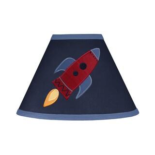 Sweet Jojo Designs Space Galaxy Navy Blue Lamp Shade