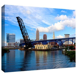 Cody York 'Cleveland 12' Gallery-wrapped Canvas