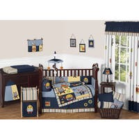 Sweet Jojo Designs Modern Robot 9-piece Crib Bedding Set