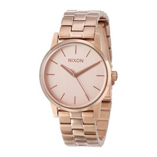 Nixon Women's A361897-00 Small Kensington Rose Goldtone Stainless Steel Quartz Watch