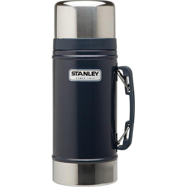 Stanley Classic 24-ounce Vacuum Food Jar, Hammertone Navy