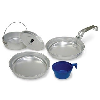 Stansport 1-Man Aluminum 5-piece Cook Set