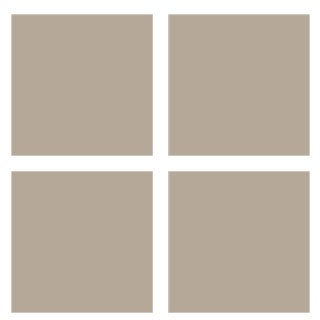 WallPops Pebble Taupe Dots Blox Stripes Decals
