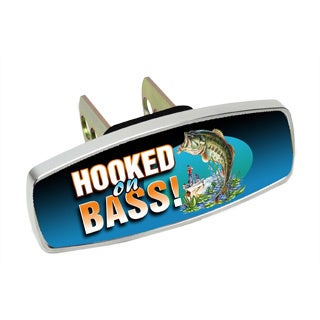 HitchMate Premier Series Hitch Cap Hooked on Bass