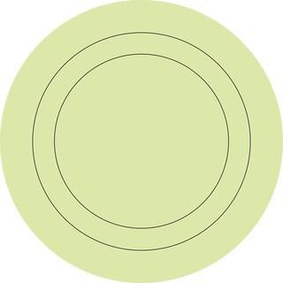 Pea Pod Die Cut Circles