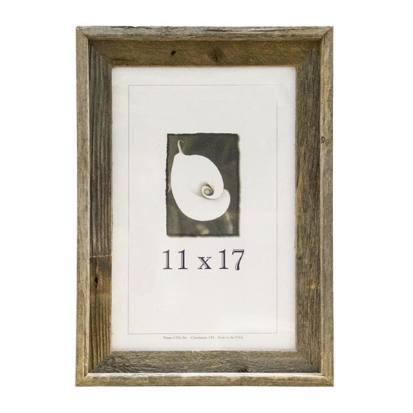 Barnwood 11x17 Picture Frame Free Shipping On Orders