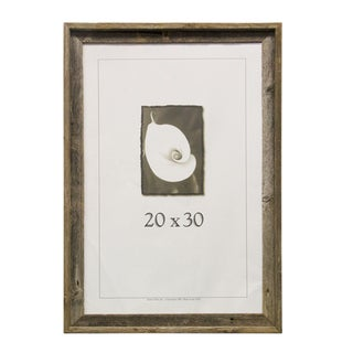 Barnwood 20 inches wide x 30 inches long Picture Frame