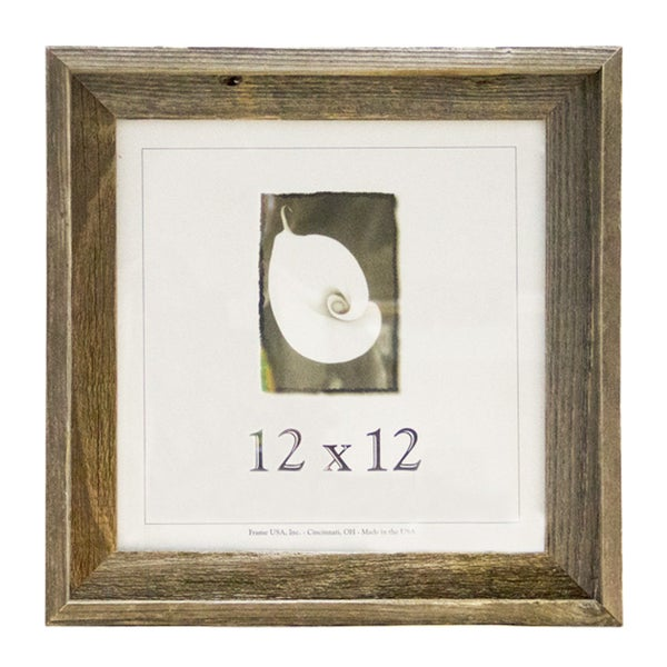 Shop Barnwood 12x12 Picture Frame - Free Shipping On Orders Over $45 ...