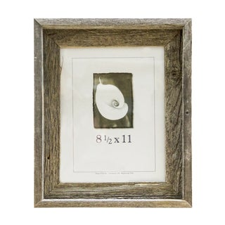 Barnwood 8.5 x11 Picture Frame