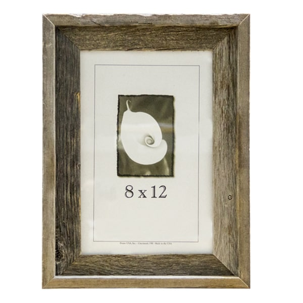 shop barnwood 8x12 picture frame free shipping on orders over 45 9544553. Black Bedroom Furniture Sets. Home Design Ideas