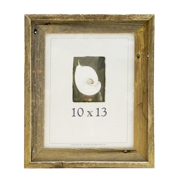 Shop Barnwood 10x13 Picture Frame - Free Shipping On Orders Over $45 ...