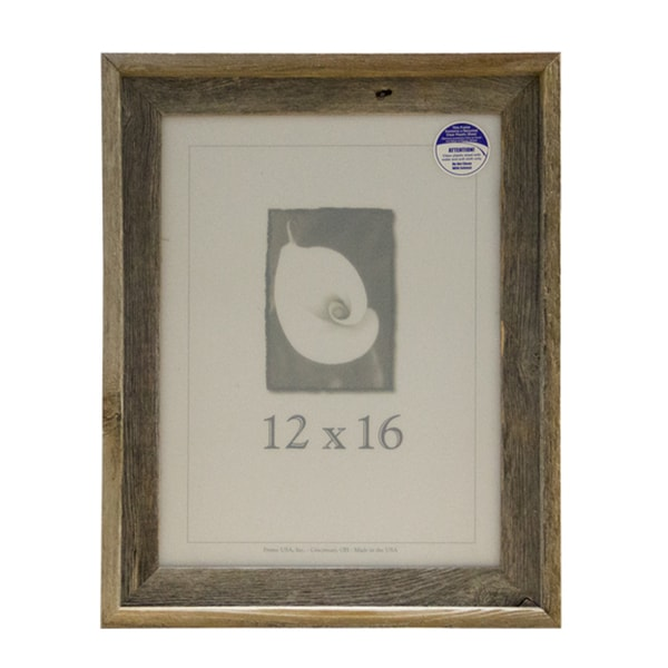 Shop Barnwood 12x16 Picture Frame Free Shipping On