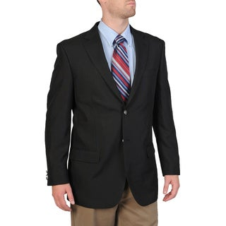 Bolzano Men's Big/ Tall Navy Sportcoat