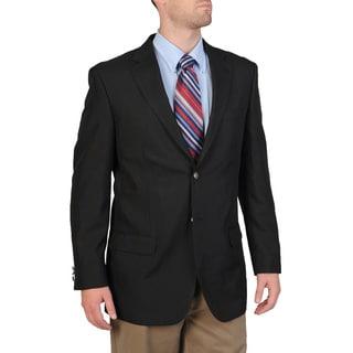 Bolzano Men's Big/ Tall Navy Sportcoat (Option: 56l)
