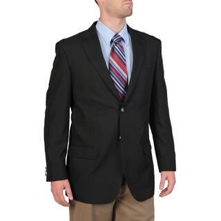 Bolzano Men's Big & Tall Black Sportcoat (Option: 56r)|https://ak1.ostkcdn.com/images/products/9544561/P16725393.jpg?impolicy=medium