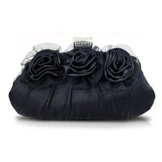 Jacki Design 'Sweet and Soft Flowers' Party Clutch