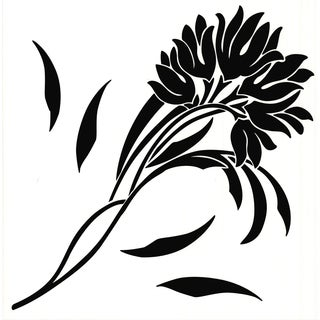 Petit Silhoette Floral Wall Art Stickers